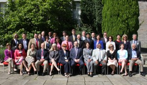 UPenn team meets with Dublin City University President's cabinet